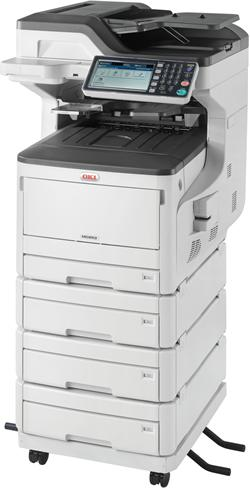 OKI MC853dnv A3 23/23 ppm ProQ2400 dpi PCL6/PS3,USB 2.0,LAN (Print/Scan/Copy/Fax)